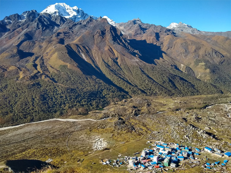 Lazing in Langtang Valley